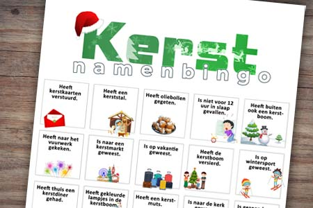 Namenbingo (kerst)